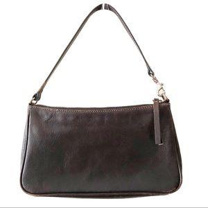 Banana Republic Vintage Leather Purse Bag Brown